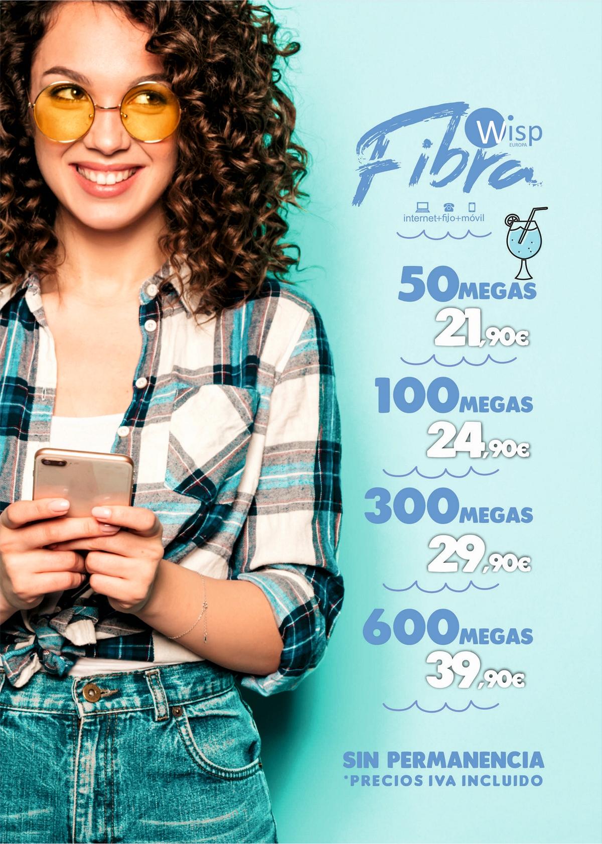 WISP Europa - Tarifas Internet FIBRA 2020